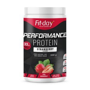 Fit-day Protein Performance jahoda 900 g