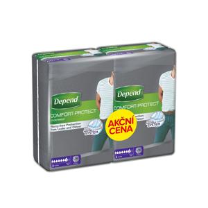 Depend Normal pro muže L/XL absorpční natahovací kalhotky 2x9 ks