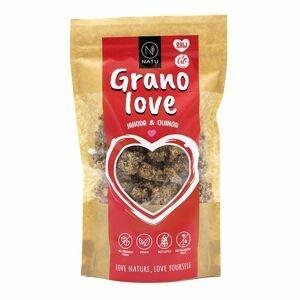 NATU Granolove Jahoda & Quinoa BIO RAW 230 g