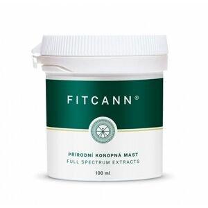 Fitcann Přírodní konopná mast 100 ml