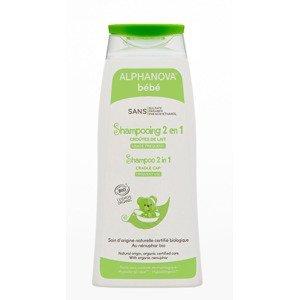 Alphanova Bébé Ultra jemný šampon 2v1 BIO 200 ml