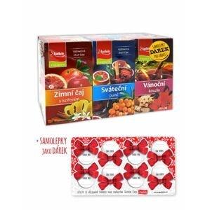 Apotheke Zimní Sváteční Vánoční čaj 3x20 sáčků + dárek samolepky