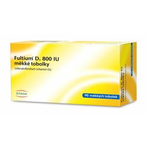 Fultium D3 800 IU 90 měkkých tobolek