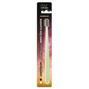 Herbadent Světluška svítící zubní kartáček 1 ks