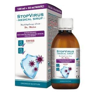 Dr. Weiss STOPVIRUS Medical sirup 100+50 ml