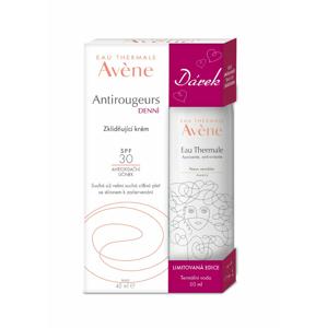 Avene Antirougeurs Denní zklidňující krém SPF30 40 ml + Termální voda MIZUNO 50 ml