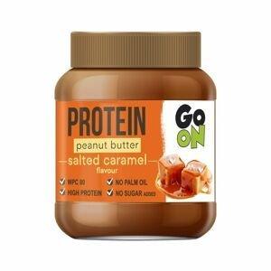 GO ON! Proteinové arašídové máslo slaný karamel 350 g