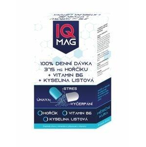 IQ Mag Hořčík 375 mg + vitamin B6 + kyselina listová 30 kapslí