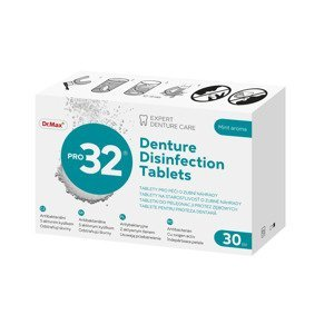 Dr.Max PRO32 Denture Disinfection Tablets 30 tablet
