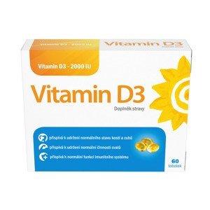 Vitamin D3 2000 IU 60 tobolek