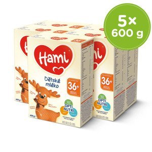 Hami 36+ 5x600 g