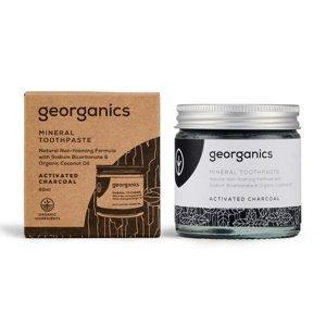 Georganics Aktivní uhlí minerální zubní pasta 60 ml