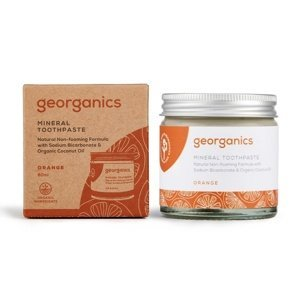 Georganics Pomeranč minerální zubní pasta 60 ml