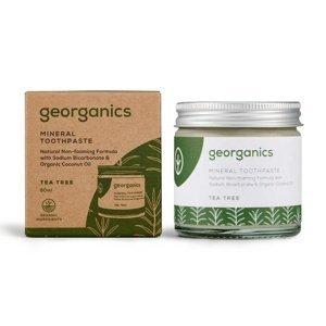 Georganics Tea Tree minerální zubní pasta 60 ml