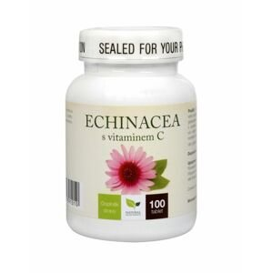 Natural Medicaments Echinacea s vitamínem C 100 tablet