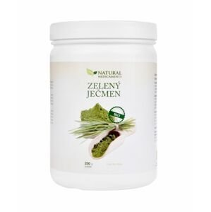 Natural Medicaments Zelený ječmen BIO 250 g