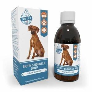 Topvet For Pets Biotin s boswélií sirup pro psy 200 ml