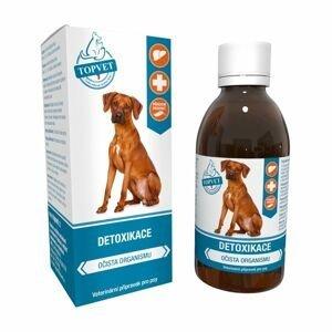 Topvet For Pets Detoxikace sirup pro psy 200 ml