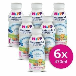 Hipp Junior Combiotik 1+ batolecí mléko 6x470 ml