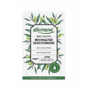 ALKMENE BIO Výživná pleťová maska Oliva 2x6 ml