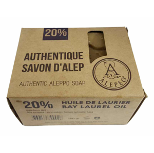 ALEPEO Tradiční mýdlo s vavřínovým olejem 20% 200 g