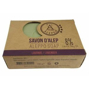 ALEPEO Tradiční ručně vyráběné mýdlo Levandule 8% 100 g
