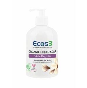 ECOS 3 Organické tekuté mýdlo Bílá magnolie 500 ml