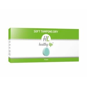 Healthy life Soft tampons Dry 10 ks