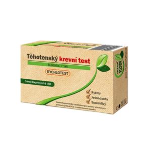 VITAMIN STATION Rychlotest Těhotenský krevní test 1 ks