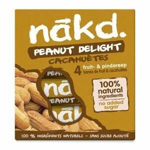 Nakd Tyčinka Peanut Delight 4x35 g