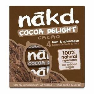 Nakd Tyčinka Cocoa Delight 4x35 g