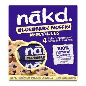 Nakd Tyčinka Blueberry Muffin 4x35 g