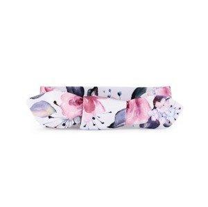 T-tomi Dětská zavazovací čelenka 1 ks roses