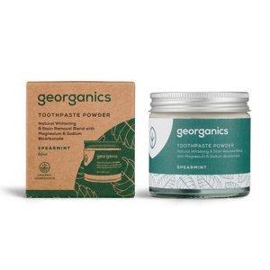 Georganics Spearmint zubní prášek 60 ml