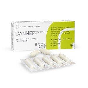 CANNEFF SUP rektální čípky 5 ks