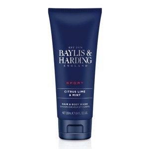 Baylis & Harding Pánský mycí gel na vlasy a tělo Limetka a máta 250 ml