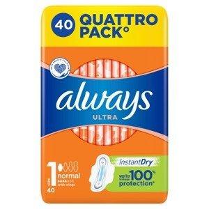 Always Ultra Normal Quatro vložky 40 ks