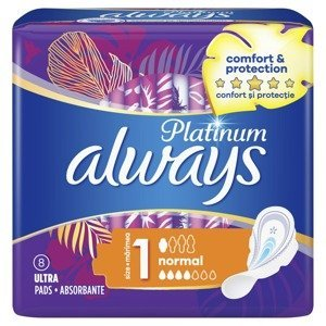 Always Ultra Platinum Normal vložky 8 ks