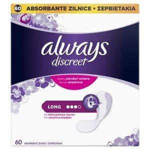 Always Discreet Long inkontinenční intimky 60 ks