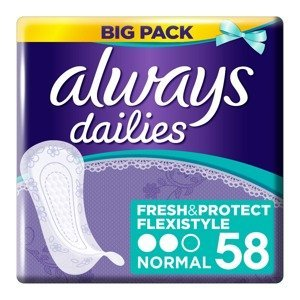 Always Fresh&Protect Flexistyle Normal intimky 58 ks