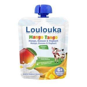 Loulouka BIO kapsička Mango Tango mango, banán, jogurt 90 g