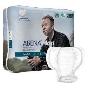 Abena Man Formula 2 inkontinenční vložky pro muže 15 ks