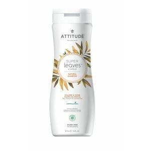 ATTITUDE Super leaves Přírodní šampon pro lesk a objem pro jemné vlasy 473 ml