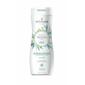 ATTITUDE Super leaves Přírodní šampon vyživujicí pro suché a poškozené vlasy 473 ml