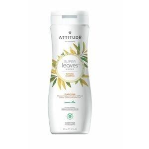 ATTITUDE Super leaves Přírodní šampon rozjasňujicí pro normální a mastné vlasy 473 ml