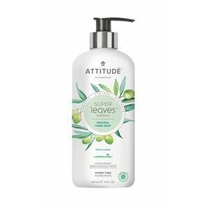 ATTITUDE Super leaves Přírodní mýdlo na ruce olivové listy 473 ml