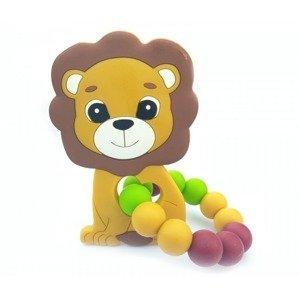 KidPro Silikonové kousátko Lvíček 1 ks