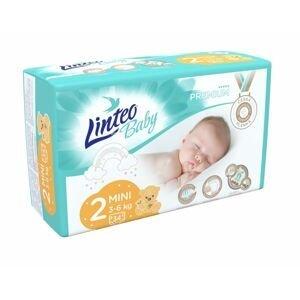 Linteo Baby PREMIUM 2 Mini 3-6 kg dětské plenky 34 ks