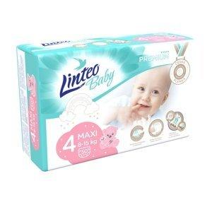Linteo Baby PREMIUM 4 Maxi 8-15 kg dětské plenky 50 ks