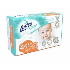 Linteo Baby PREMIUM 4+ Maxi 10-17 kg dětské plenky 46 ks